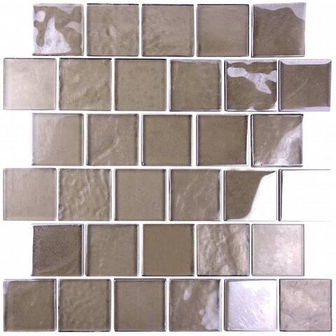 "Miseno MT-SCENERY2SQ Scenery - 12"" x 12"" - Glass Visual - Wall Tile -"