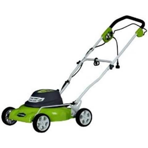 Greenworks 25012 18 in. 2-in-1 Electric Mower