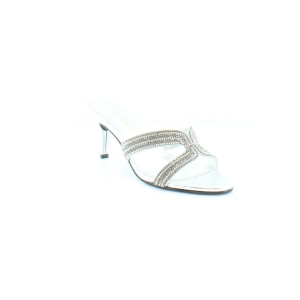 Caparros Eliza Women's Heels Silver Metallic - 8