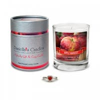 Daniella's Candles Apple Harvest Jewelry Candle, Earrings