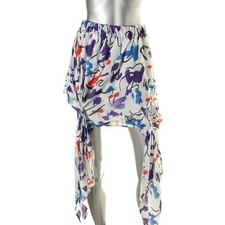 Zara W&B Collection Womens Georgette Layered Mini Skirt - M