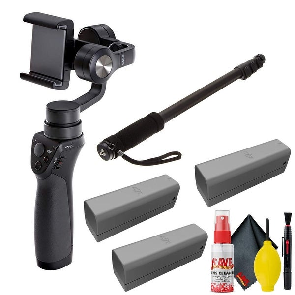 DJI Osmo Mobile Gimbal - Battery(3Total) - Clean Kit + Cloth -. Opens flyout.