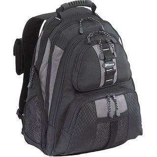 """""""Targus TSB212b Targus Sport Backpack Case Designed for 15.4 Inch Notebooks TSB212 (Black with Grey Accents)"""""""