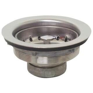 "Plumb Pak PP20208 Stainless Steel Sink Basket, Strainer Assembly, 3-1/2"""