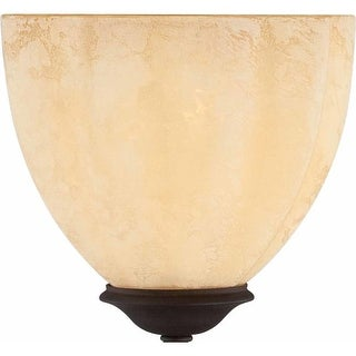 "Volume Lighting GS-295 4.75"" Height Sandstone Glass Bowl Shade"