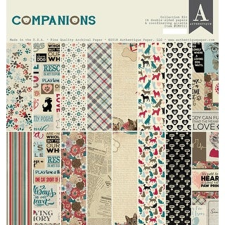 "Authentique Collection Kit 12""X12""-Companions"