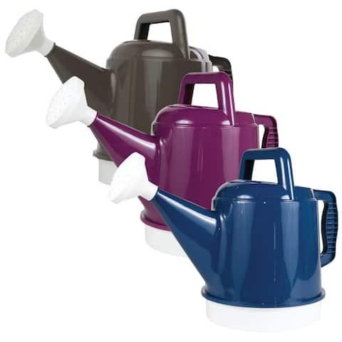 Bloem DWC2-ASST-4 Deluxe Watering Can, 2.5 Gallon - 2.5 gallon