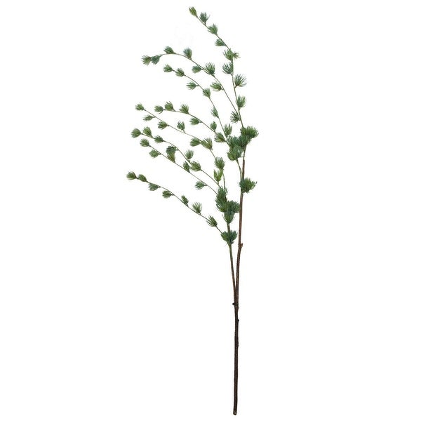 "53.5"" Artificial Pine Green Mini Needle Hanging Pine Spray"