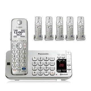 Panasonic KX-TGE276S (KX-TGE275 + KX-TGEA20S) Handsets DECT 6.0 & Bluetooth Answering System