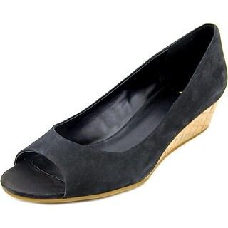 Cole Haan Elsie.OT.Wedge.II Open Toe Leather Wedge Heel