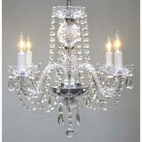 Swarovski Elements Crystal Trimmed Authentic All Crystal Plug In Chandelier