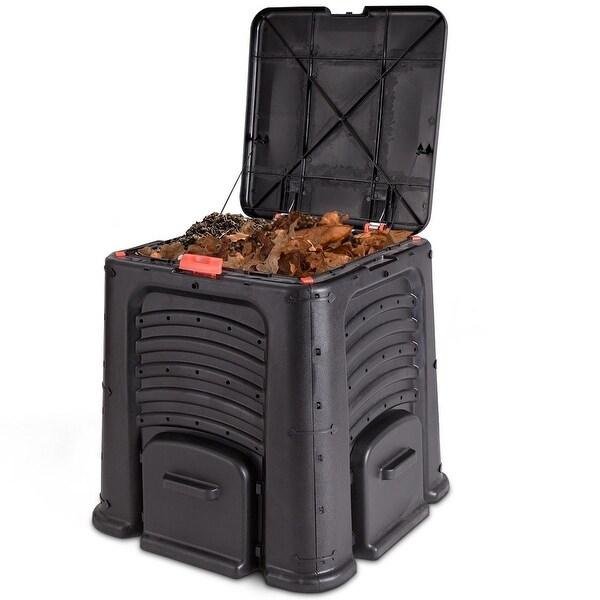Outdoor 105 Gallon Compost Bin for Home Garden Composting