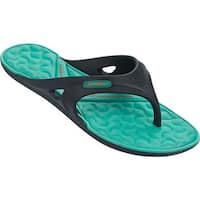 Rider Women's Monza II Thong Sandal Blue/Green