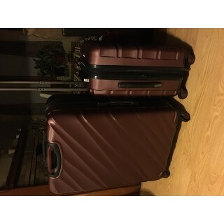 ae7006391 U.S. Traveler Gilmore 2-Piece Expandable Hardside Spinner Luggage Set
