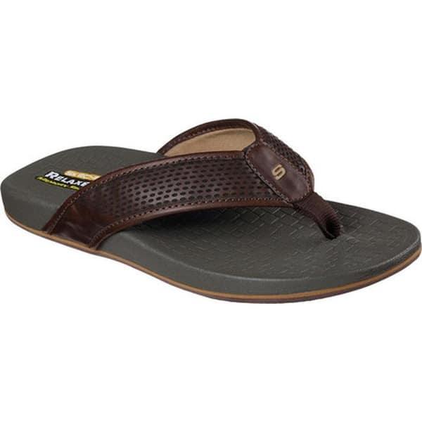 skechers relaxed fit memory foam 360 sandals