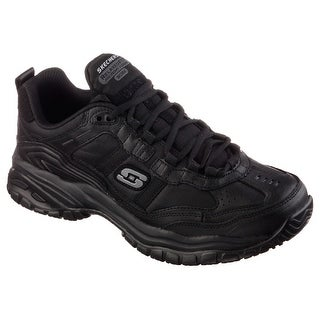 Skechers 77042 BLK Men's SOFT STRIDE-MAVIN Work