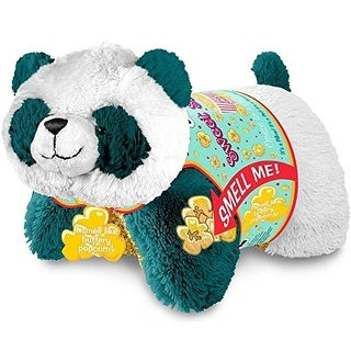 "Sweet Scented Pillow Pets 16"" Plush: Popcorn Panda"