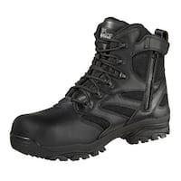 Thorogood Work Boot Mens Waterproof Leather Side Zip CT Black 804-6190