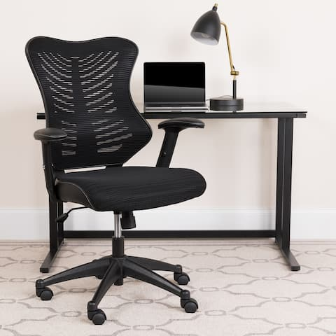 High Back Designer Executive Swivel Ergonomic Office Chair with Adjustable Arms