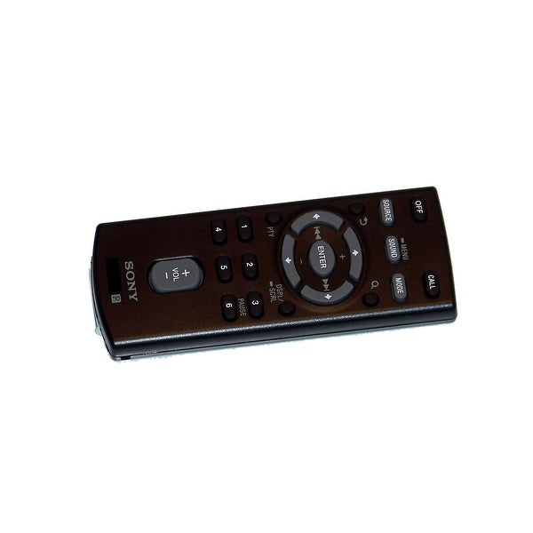OEM Sony Remote Control Originally Shipped With: MEXGS810BH, MEX-GS810BH, MEXBT31PW, MEX-BT31PW, MEXBT4054U, MEX-BT4054U