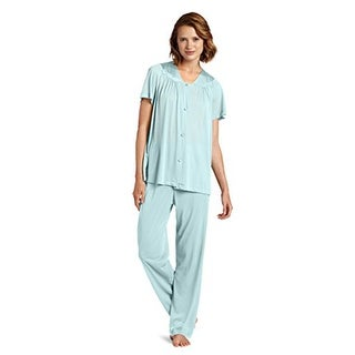 Vanity Fair Women's Coloratura Sleepwear Short Sleeve Pajama Set 90107