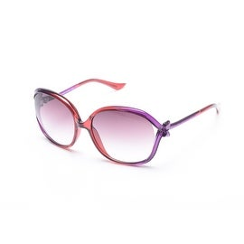Moschino Bow Detailed Oversized Sunglasses Pink