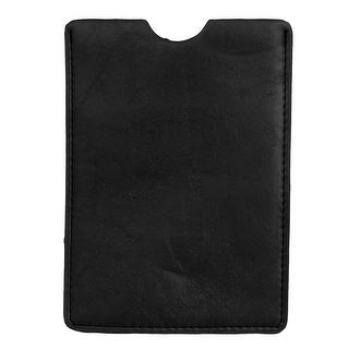 Unique Bargains Black Faux Leather Universal Inline Protective Case Cover for 7  Tablet PC