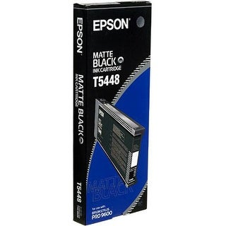 Epson UltraChrome Ink Cartridge -  Matte Black Ink Cartridge