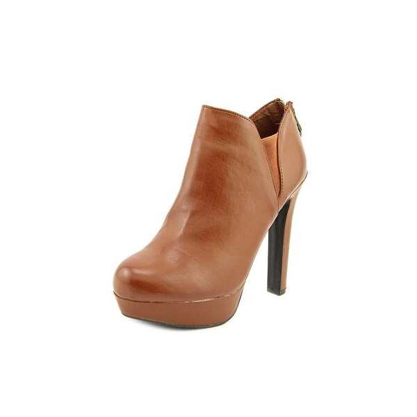 Material Girl Ross Round Toe Synthetic Bootie