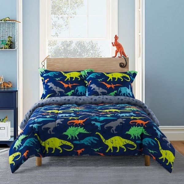 Gizmo Kids™ Dino Blue Comforter Set. Opens flyout.