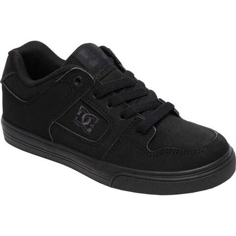 DC Shoes Boys' Pure Black/Pirate Black