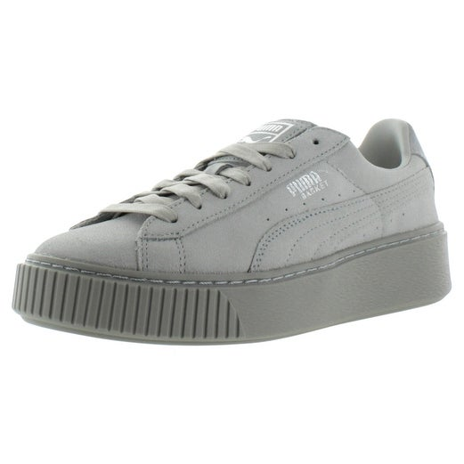 Puma Basket Reset Women's Platform Creeper Sneakers