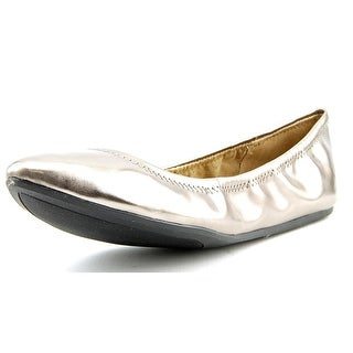 BCBGeneration Nassau Round Toe Synthetic Ballet Flats