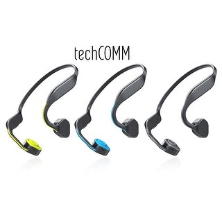 TechComm F1 Bone Conduction Water-resistant Bluetooth Wireless Sports Headphones