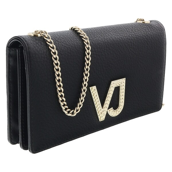 Versace EE3VRBPC3 Black Wallet on Chain - 7.5-4.5-1