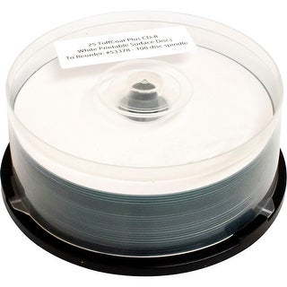 Primera 53378M STANDARD CDR WHITE 100 PACK