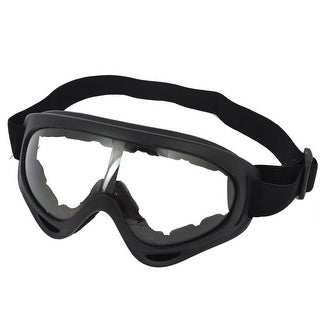 Black Elastic Head Band Glasses Outdoor Protective Ski Goggles