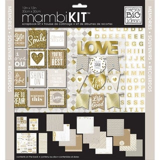 "Me & My Big Ideas Page Kit 12""X12""-Memories"