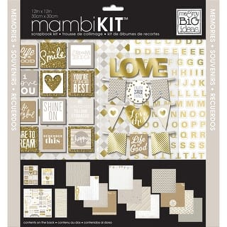 """Me & My Big Ideas Page Kit 12""""X12""""-Memories