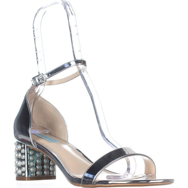 Blue by Betsey Johnson Melli Dress Sandals, Silver