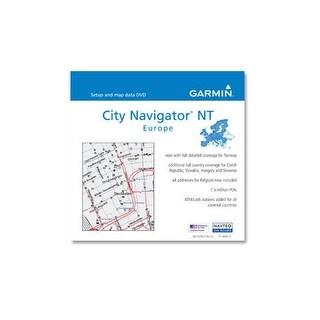 Garmin City Navigator® NT Europe v9 City Navigator NT Europe v9 Preprogrammed Cards