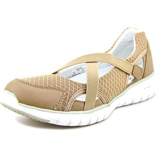 Propet Travellite Mary Jane Women 2A Round Toe Synthetic Tan Mary Janes