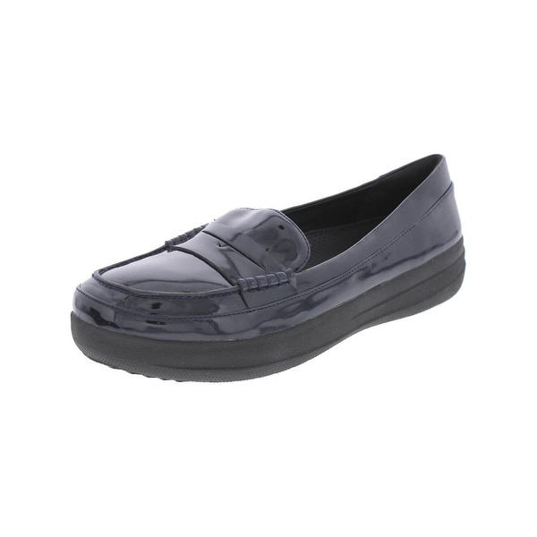 8ace347c6 Shop Fitflop Womens Penny Loafers Patent Sporty - 8 medium (b