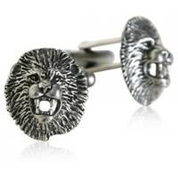 Lion Head Cufflinks Animal