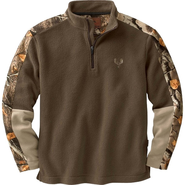Legendary Whitetails Men's Big Game Camo Tracker 1/4 Zip