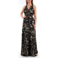RACHEL ROY $179 Womens New 1009 Black Floral Sleeveless Dress 0 Juniors B+B