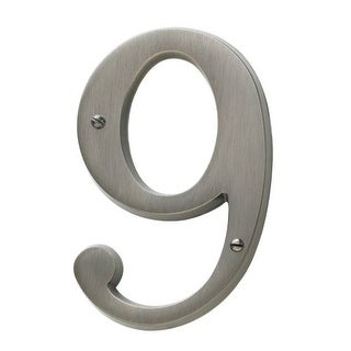 Baldwin 90679 Solid Brass Residential House Number 9
