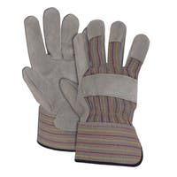Boss 4094J Split Leather Palm Gloves, Jumbo
