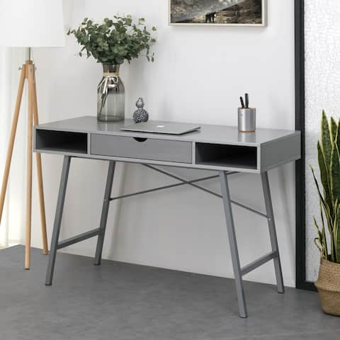 Carson Carrington Kakuasen 47-inch Grey Writing Desk