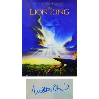 Matthew Broderick The Lion King 27x40 Full Size Movie Poster